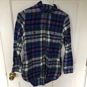 Madewell Sunday flannel